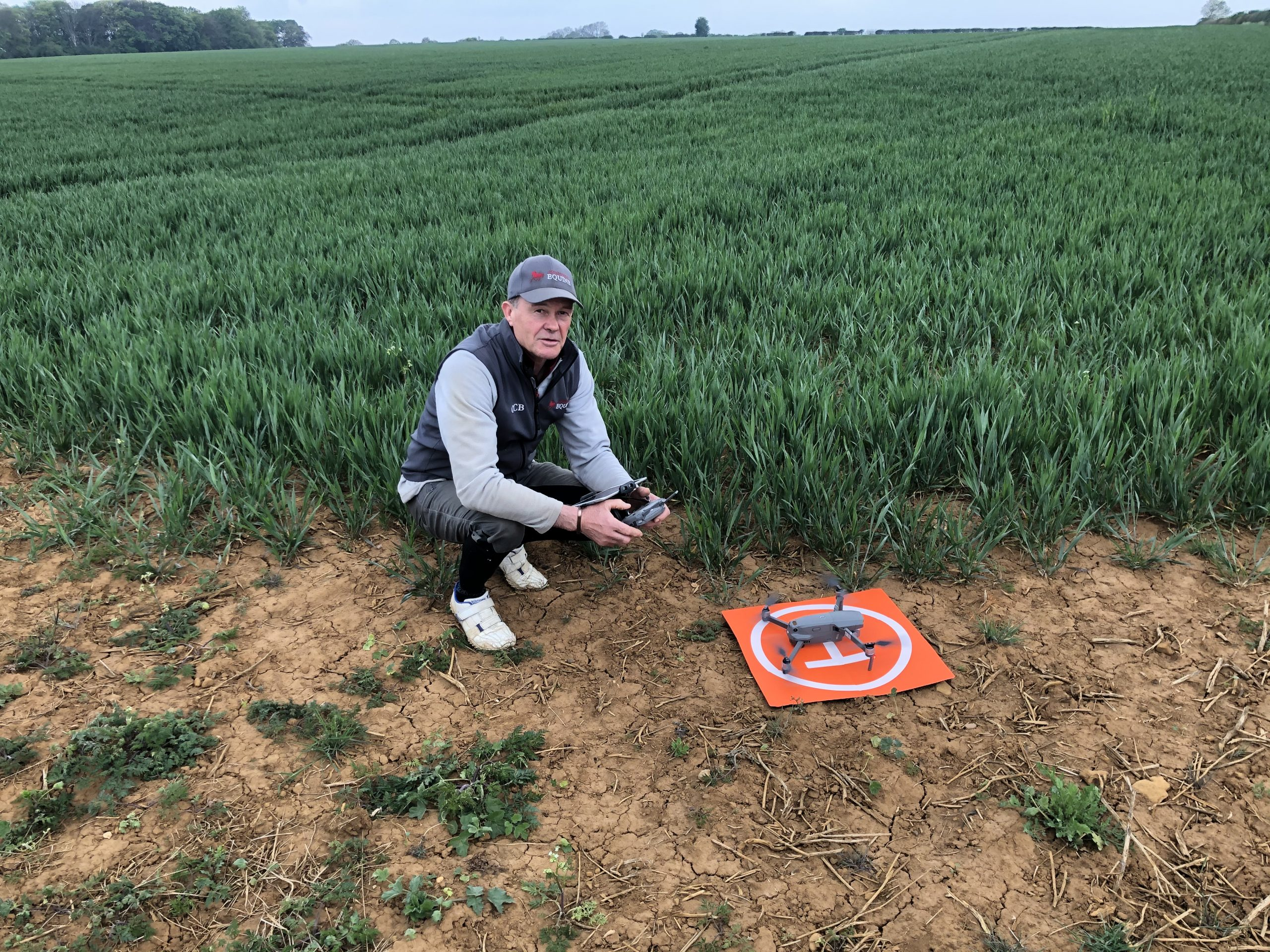 Chris Bealby Integrates Drone use into his Farm