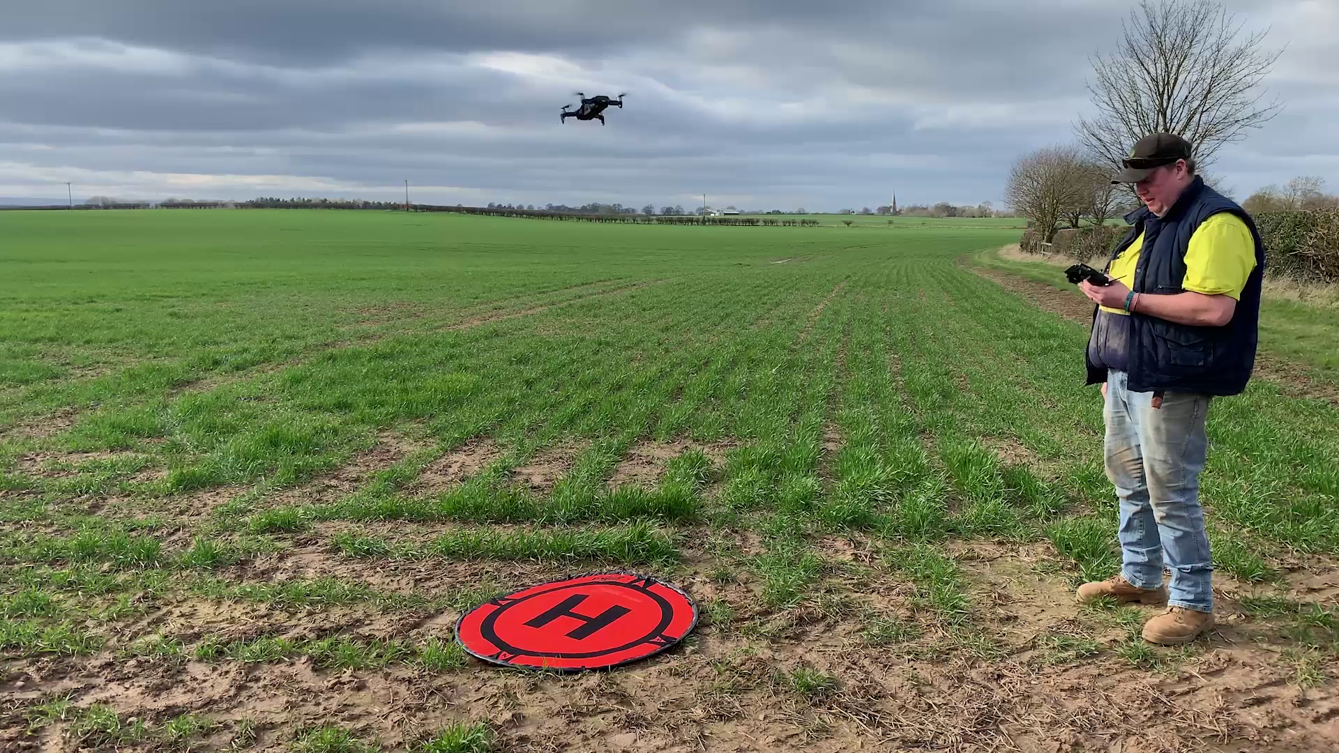 Graham Potter Monitors His Crops with Drones